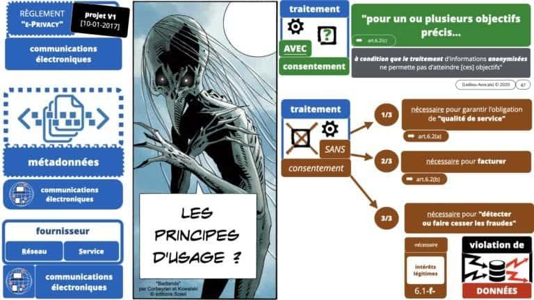 306 RGPD et jurisprudence e-Privacy données-personnelles 16:9 ©Ledieu-Avocats 05-10-2020 formation Les Echos Lamy Conference.087