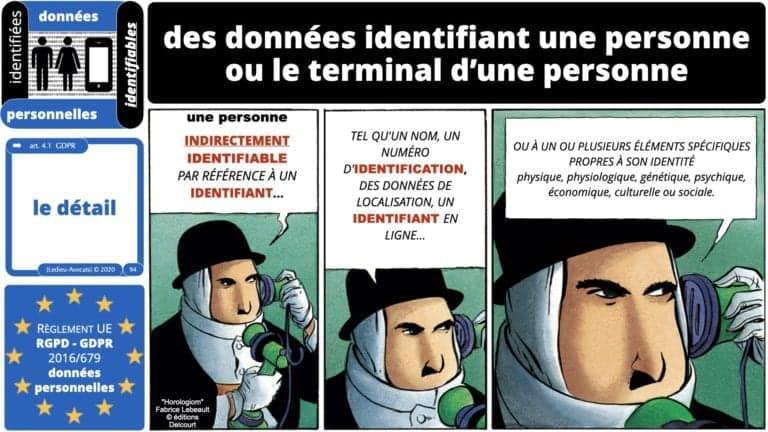 306 RGPD et jurisprudence e-Privacy données-personnelles 16:9 ©Ledieu-Avocats 05-10-2020 formation Les Echos Lamy Conference.094