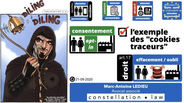 306 RGPD et jurisprudence e-Privacy données-personnelles 16:9 ©Ledieu-Avocats 05-10-2020 formation Les Echos Lamy Conference.096