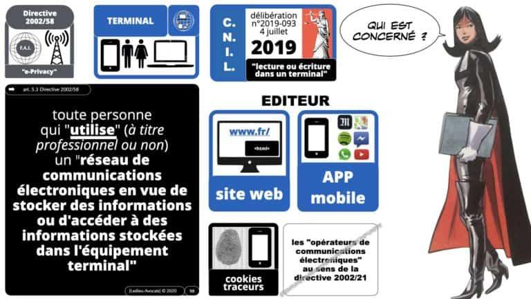 306 RGPD et jurisprudence e-Privacy données-personnelles 16:9 ©Ledieu-Avocats 05-10-2020 formation Les Echos Lamy Conference.098