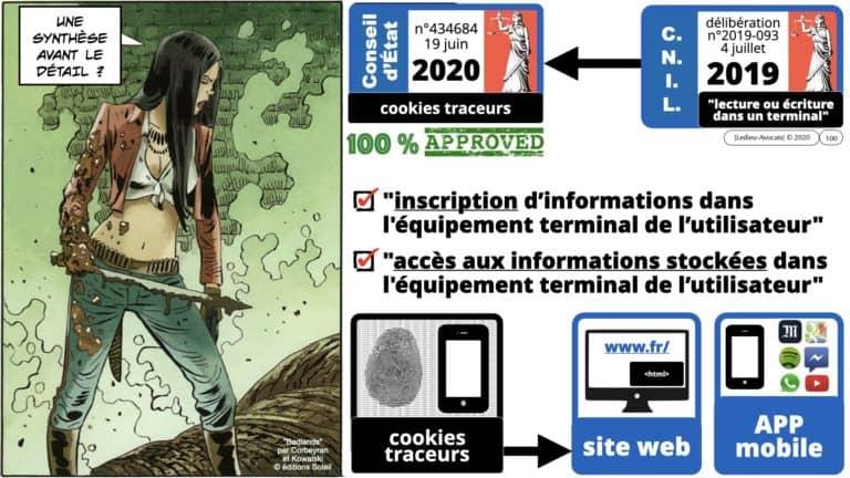 306 RGPD et jurisprudence e-Privacy données-personnelles 16:9 ©Ledieu-Avocats 05-10-2020 formation Les Echos Lamy Conference.100