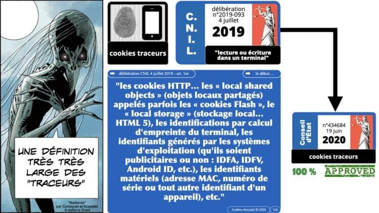 306 RGPD et jurisprudence e-Privacy données-personnelles 16:9 ©Ledieu-Avocats 05-10-2020 formation Les Echos Lamy Conference.105