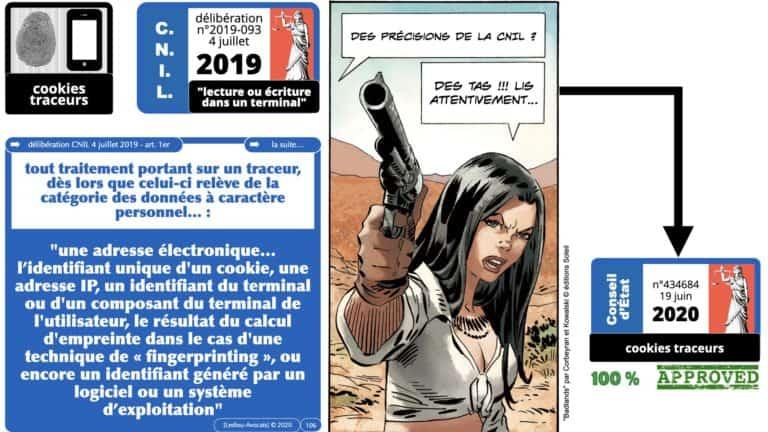 306 RGPD et jurisprudence e-Privacy données-personnelles 16:9 ©Ledieu-Avocats 05-10-2020 formation Les Echos Lamy Conference.106