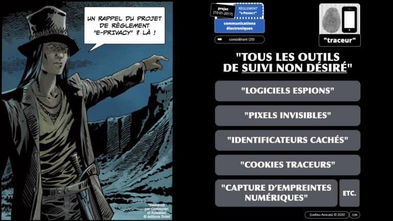 306 RGPD et jurisprudence e-Privacy données-personnelles 16:9 ©Ledieu-Avocats 05-10-2020 formation Les Echos Lamy Conference.109