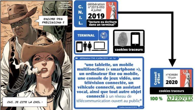 306 RGPD et jurisprudence e-Privacy données-personnelles 16:9 ©Ledieu-Avocats 05-10-2020 formation Les Echos Lamy Conference.111