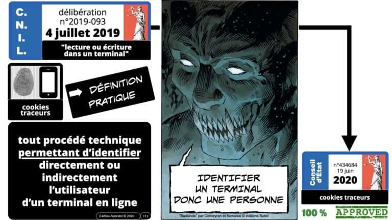 306 RGPD et jurisprudence e-Privacy données-personnelles 16:9 ©Ledieu-Avocats 05-10-2020 formation Les Echos Lamy Conference.112