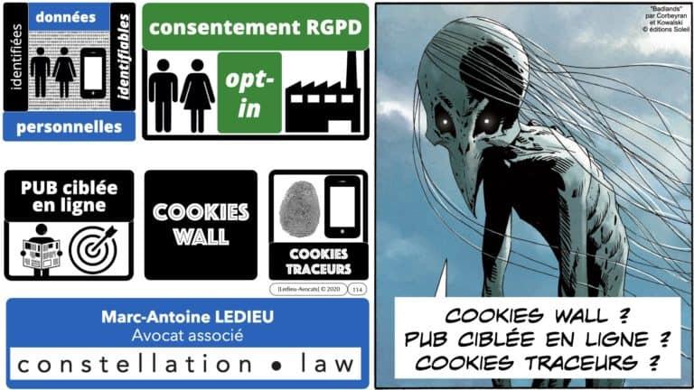 306 RGPD et jurisprudence e-Privacy données-personnelles 16:9 ©Ledieu-Avocats 05-10-2020 formation Les Echos Lamy Conference.114