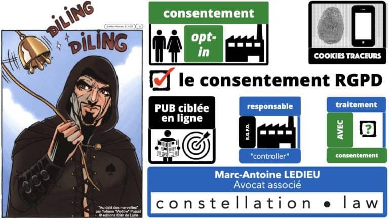 306 RGPD et jurisprudence e-Privacy données-personnelles 16:9 ©Ledieu-Avocats 05-10-2020 formation Les Echos Lamy Conference.115