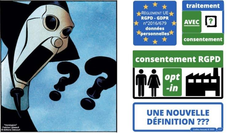 306 RGPD et jurisprudence e-Privacy données-personnelles 16:9 ©Ledieu-Avocats 05-10-2020 formation Les Echos Lamy Conference.117
