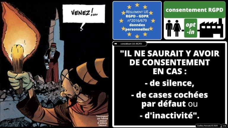306 RGPD et jurisprudence e-Privacy données-personnelles 16:9 ©Ledieu-Avocats 05-10-2020 formation Les Echos Lamy Conference.119