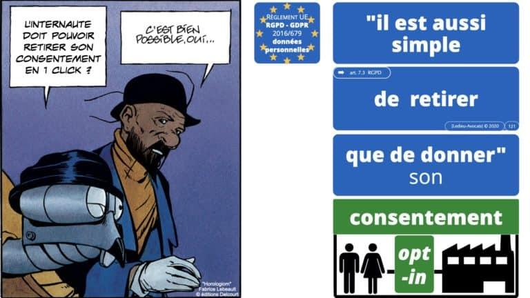 306 RGPD et jurisprudence e-Privacy données-personnelles 16:9 ©Ledieu-Avocats 05-10-2020 formation Les Echos Lamy Conference.121