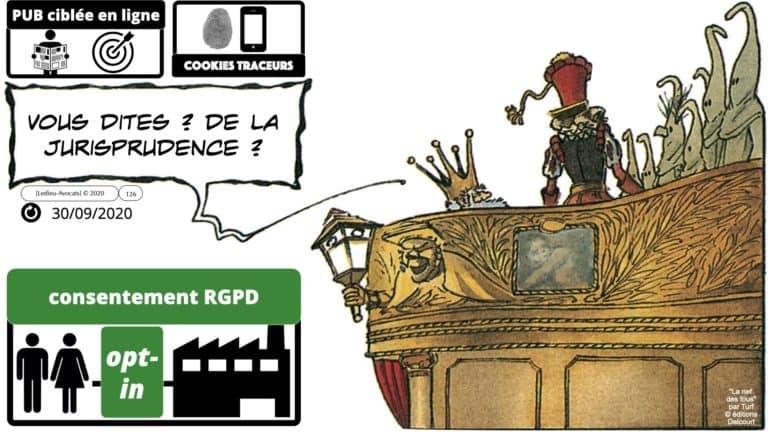 306 RGPD et jurisprudence e-Privacy données-personnelles 16:9 ©Ledieu-Avocats 05-10-2020 formation Les Echos Lamy Conference.126