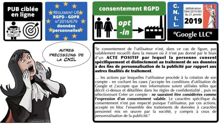 306 RGPD et jurisprudence e-Privacy données-personnelles 16:9 ©Ledieu-Avocats 05-10-2020 formation Les Echos Lamy Conference.128