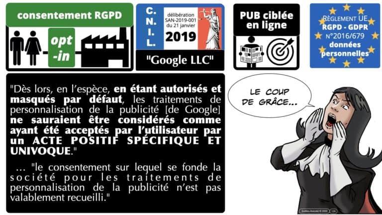 306 RGPD et jurisprudence e-Privacy données-personnelles 16:9 ©Ledieu-Avocats 05-10-2020 formation Les Echos Lamy Conference.129