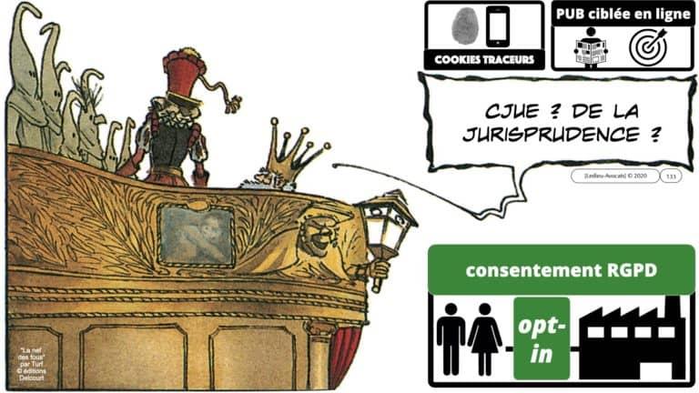 306 RGPD et jurisprudence e-Privacy données-personnelles 16:9 ©Ledieu-Avocats 05-10-2020 formation Les Echos Lamy Conference.133