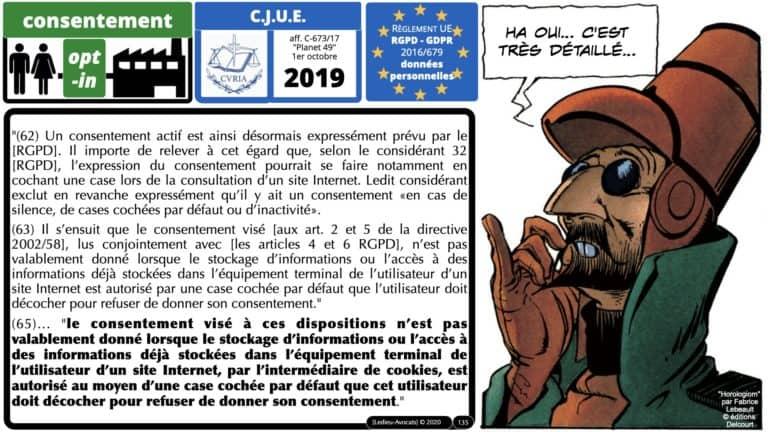 306 RGPD et jurisprudence e-Privacy données-personnelles 16:9 ©Ledieu-Avocats 05-10-2020 formation Les Echos Lamy Conference.135