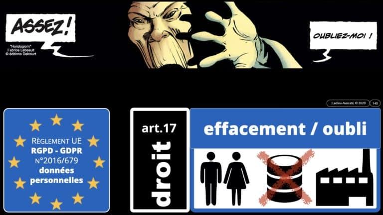 306 RGPD et jurisprudence e-Privacy données-personnelles 16:9 ©Ledieu-Avocats 05-10-2020 formation Les Echos Lamy Conference.140