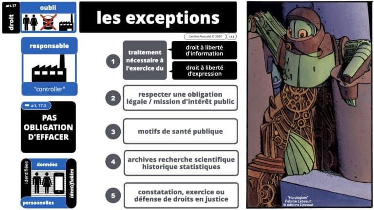 306 RGPD et jurisprudence e-Privacy données-personnelles 16:9 ©Ledieu-Avocats 05-10-2020 formation Les Echos Lamy Conference.143