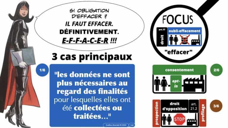 306 RGPD et jurisprudence e-Privacy données-personnelles 16:9 ©Ledieu-Avocats 05-10-2020 formation Les Echos Lamy Conference.144