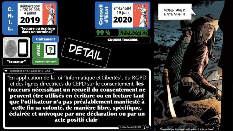 306 RGPD et jurisprudence e-Privacy données-personnelles 16:9 ©Ledieu-Avocats 05-10-2020 formation Les Echos Lamy Conference.149