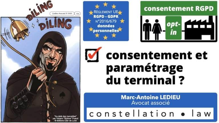 306 RGPD et jurisprudence e-Privacy données-personnelles 16:9 ©Ledieu-Avocats 05-10-2020 formation Les Echos Lamy Conference.150