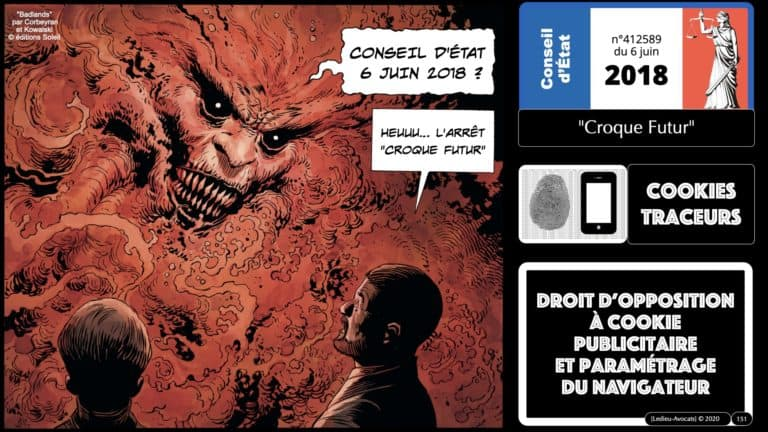 306 RGPD et jurisprudence e-Privacy données-personnelles 16:9 ©Ledieu-Avocats 05-10-2020 formation Les Echos Lamy Conference.151