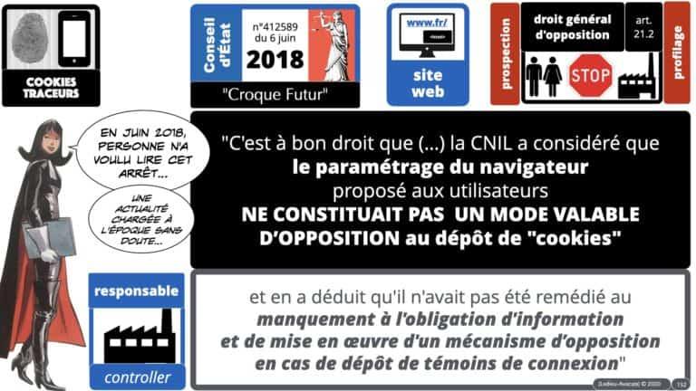 306 RGPD et jurisprudence e-Privacy données-personnelles 16:9 ©Ledieu-Avocats 05-10-2020 formation Les Echos Lamy Conference.152
