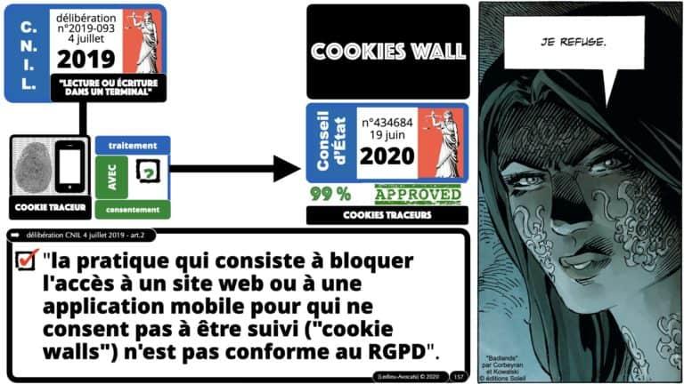 306 RGPD et jurisprudence e-Privacy données-personnelles 16:9 ©Ledieu-Avocats 05-10-2020 formation Les Echos Lamy Conference.157