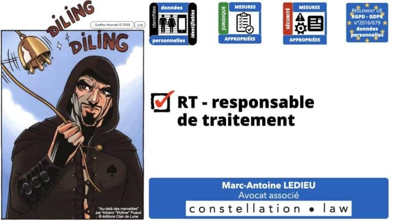306 RGPD et jurisprudence e-Privacy données-personnelles 16:9 ©Ledieu-Avocats 05-10-2020 formation Les Echos Lamy Conference.218
