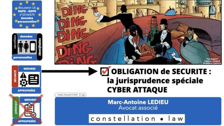 306 RGPD et jurisprudence e-Privacy données-personnelles 16:9 ©Ledieu-Avocats 05-10-2020 formation Les Echos Lamy Conference.306