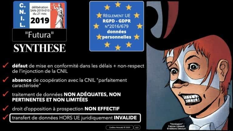 306 RGPD et jurisprudence e-Privacy données-personnelles 16:9 ©Ledieu-Avocats 05-10-2020 formation Les Echos Lamy Conference.322