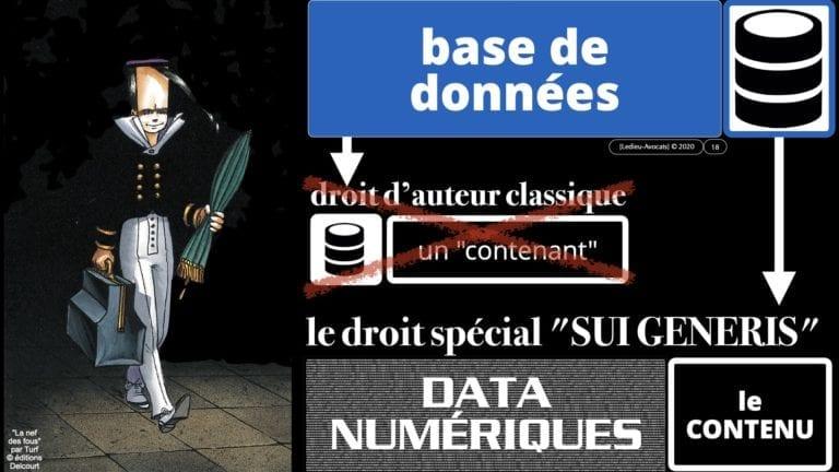 308 #EGE le droit de l'UE des bases de données *16:9* © Ledieu-avocat 21-10-2020.018