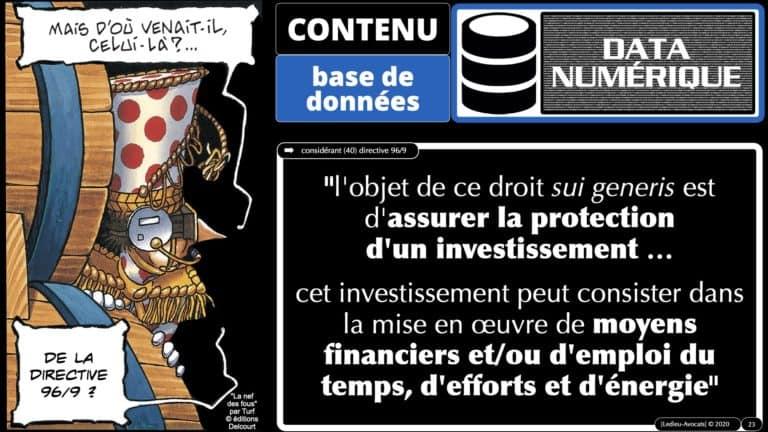 308 #EGE le droit de l'UE des bases de données *16:9* © Ledieu-avocat 21-10-2020.023