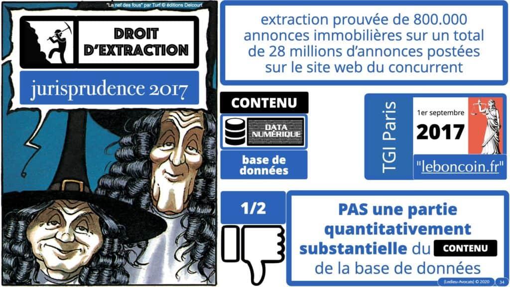 une jurisprudence de 2017 sur l'extraction substantielle du contenu d'une base de données