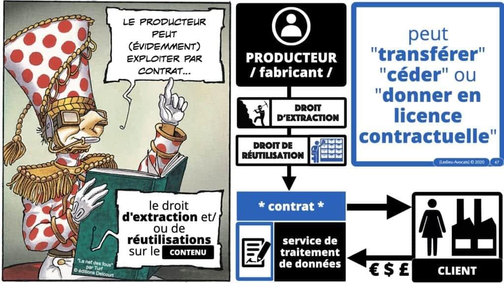 la licence contractuelle sur le droit d'extraction