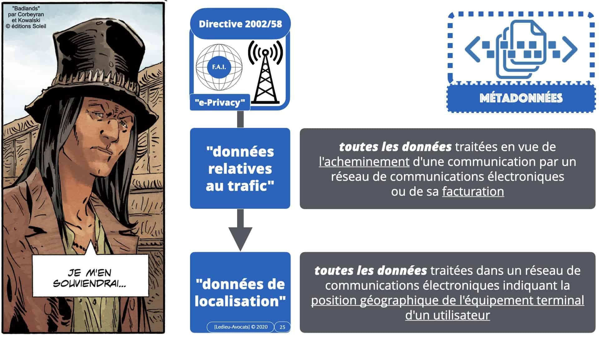 métadonnées et données personnelles : la législation européenne actuelle (pas très claire...)