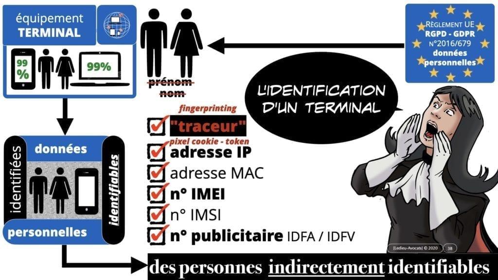 métadonnées et données personnelles : des données qui permettent d'identifier un terminal, donc indirectement une personne