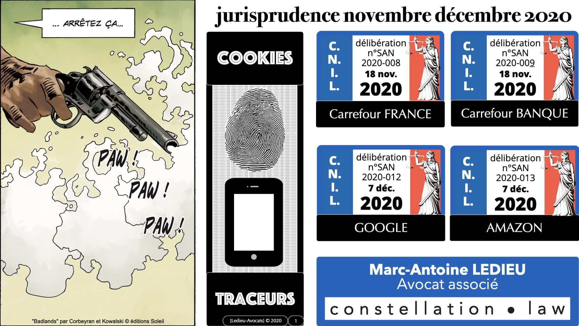 jurisprudence CNIL cookie traceur (nov. + déc. 2020) : analyse
