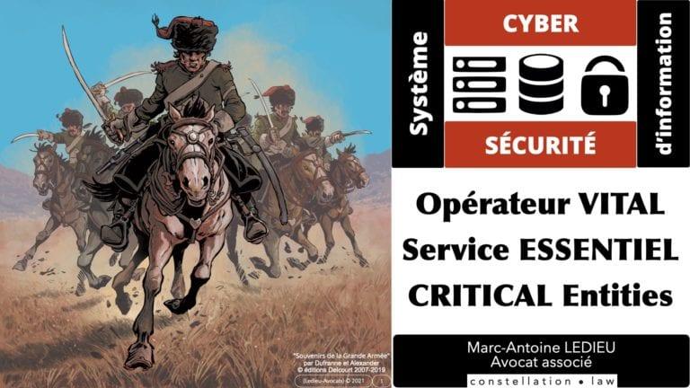 cyber sécurité #1 OIV OSE Critical Entities