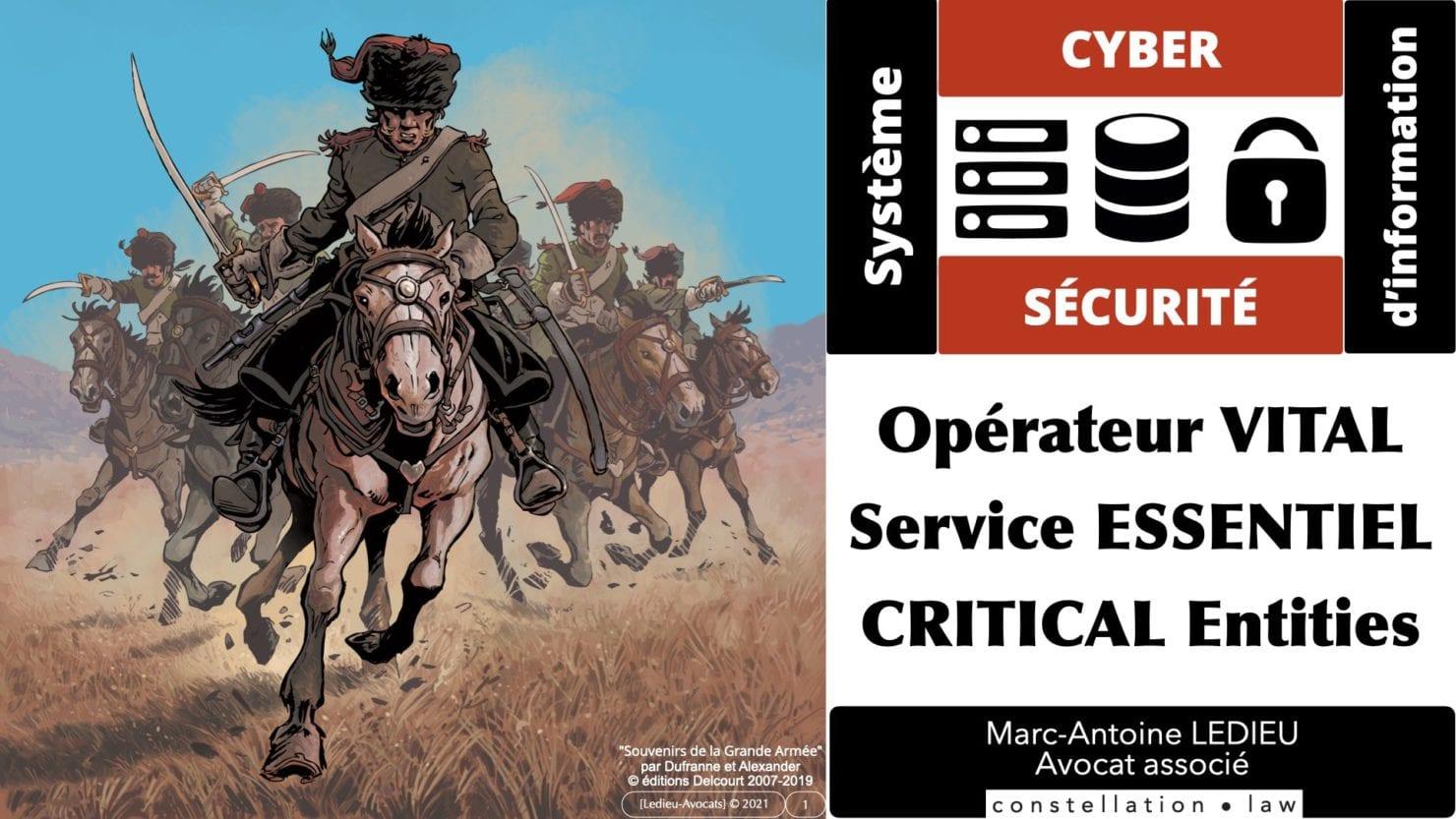 OIV OSE et Critical Entities [projet de Directive UE 12/2020]